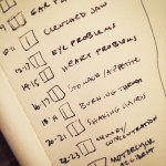 Plans for a project about the stuff that has gone…