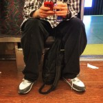 This guy kept taking pictures of my feet on thehellip