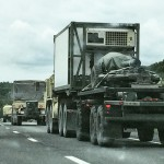 Second large military convoy I passed within a couple hourshellip